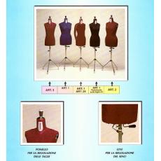 A. Bust de croitorie reglabil